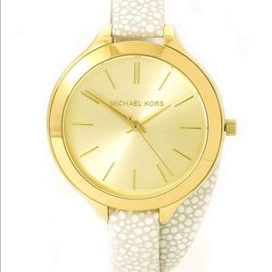 Michael Kors Gold Wrap Watch